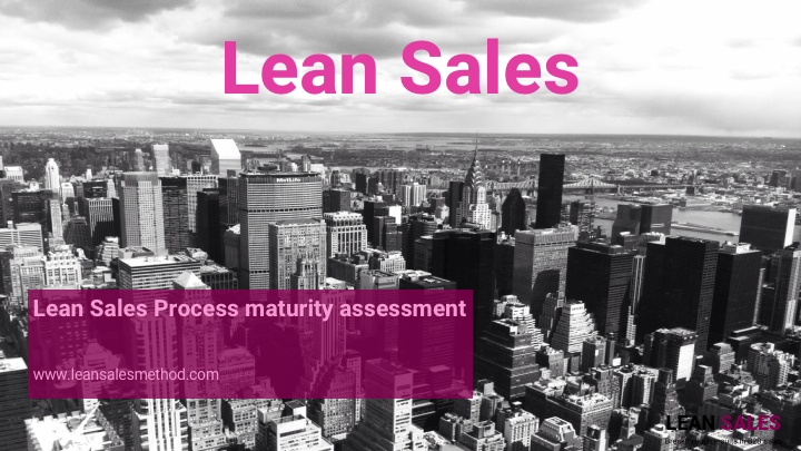 Lean Sales – process maturity assessment