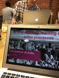 Learnings from AI meets sales hackathon